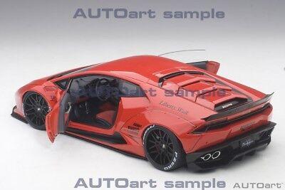 Autoart LAMBORGHINI LIBERTY WALK HURACAN RED in 1//18 Scale New Release In Stock
