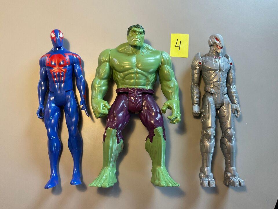 30 cm høje avengers, super helte, action figurer.