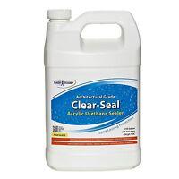 Rainguard Clear-seal High Gloss Urethane/acrylic Sealer 1gal Concrete Wood Brick