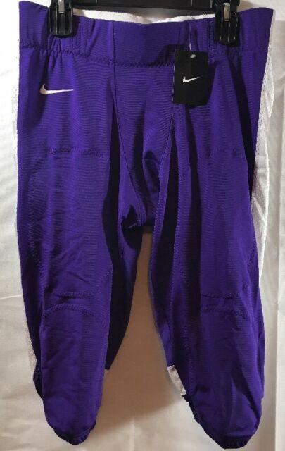 3c716d60b62d Nike Football Open Field Pants Purple White Size XL 615745 546 for ...