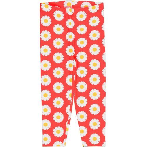Maxomorra Leggins Fleur Coton Biologique pantalon leggin Girl leggin