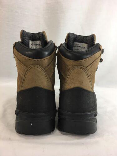 Marron En Chaussures De Cuir Hommes Le 7 Bottes À Parcours Randonnée Haut Lacets Pour W Sur Wellco Extérieur vp5q8nq