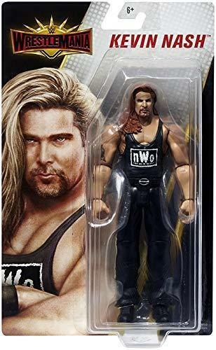 Wwe Kevin Nash Nwo Wrestlemania 35 Mattel Serie Base Wrestling Action Figure