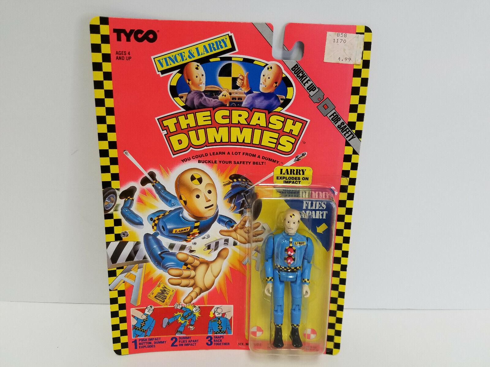70% de descuento Vintage 1991 1991 1991 Tyco Crash Dummies Larry figura  el precio más bajo