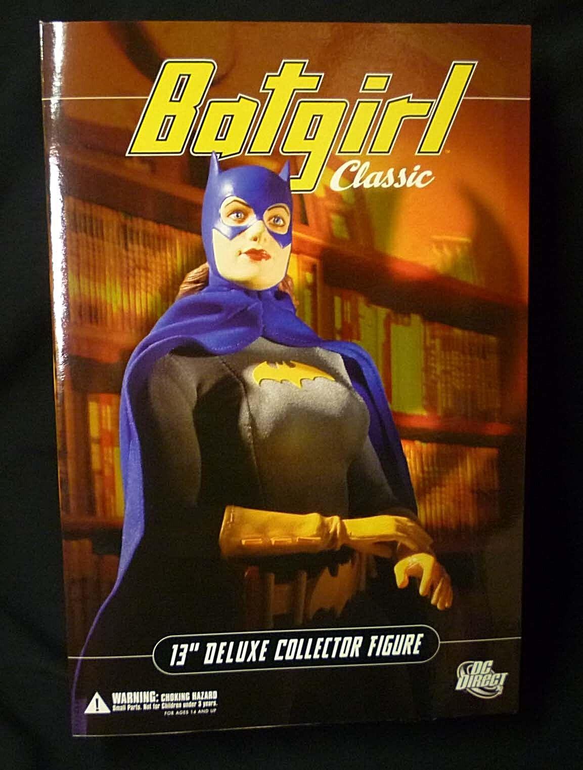 Dc comics batgirl 13 - zoll - deluxe - box - action - figur neue