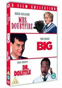 La-Senora-Doubtfire-Grande-Dr-Dolittle-Triple-Pack-DVD-1988-Region-2