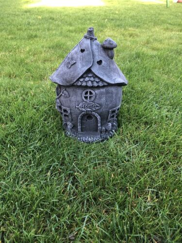 Garden ornaments Stone Fairy house