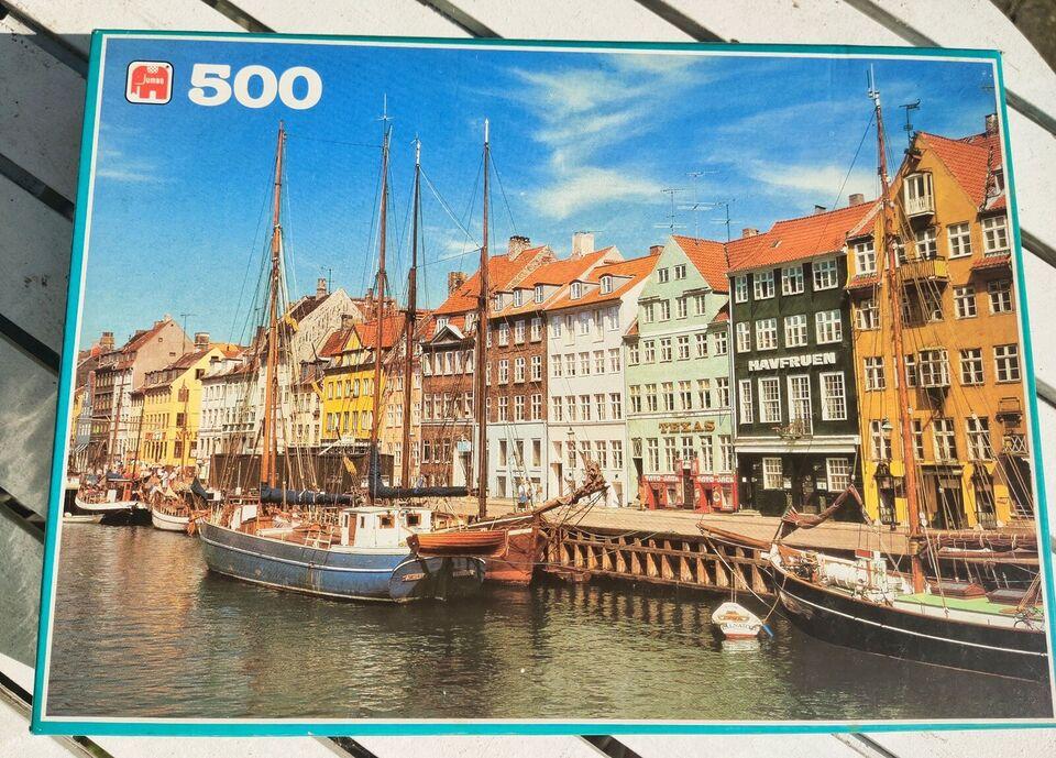 Nyhavn, 500 stk., puslespil