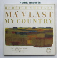 GS ST 50521/2 - SMETANA - Ma Vlast / My Country ANCERL - Ex 2 LP Record Box Set