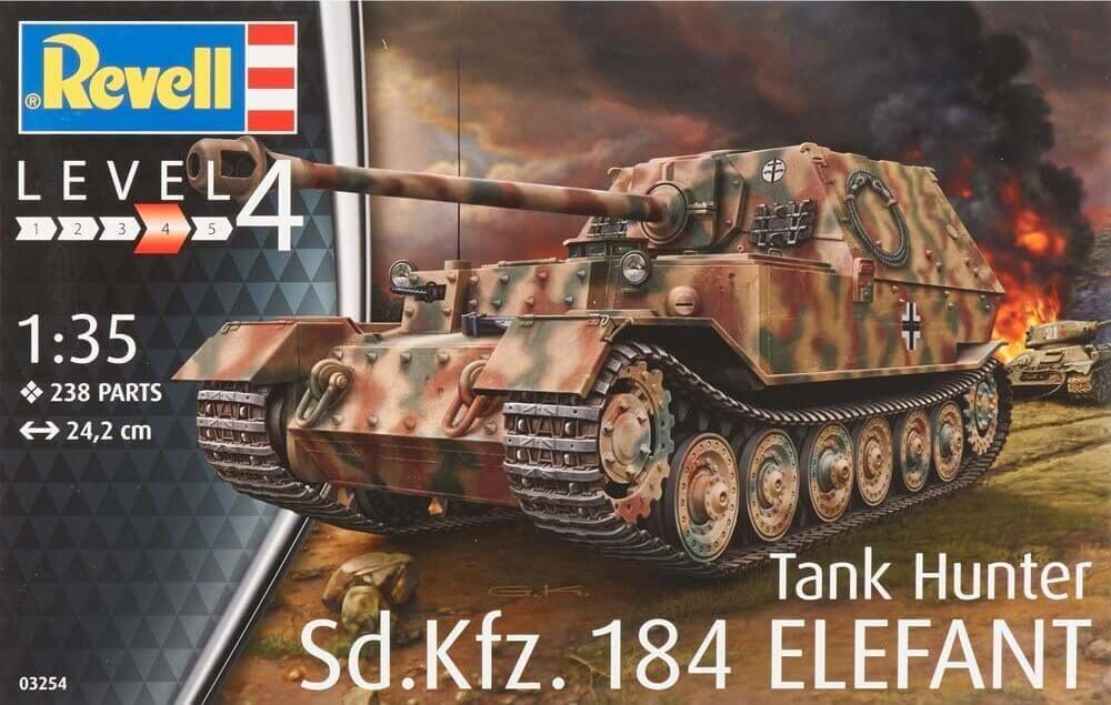 DRAGON 62014 Sd.Kfz.184 ELEFANT w//ZIMMERIT 1:72 PLASTIC MODEL TANK NEW