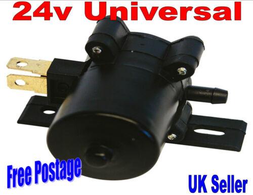 Universal 24 Volt Windscreen Washer Pump Bottle Car Van Auto