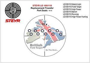 10-x-Premium-Transfer-Port-Seal-No12-Fits-Steyr-all-LG100-110-Models