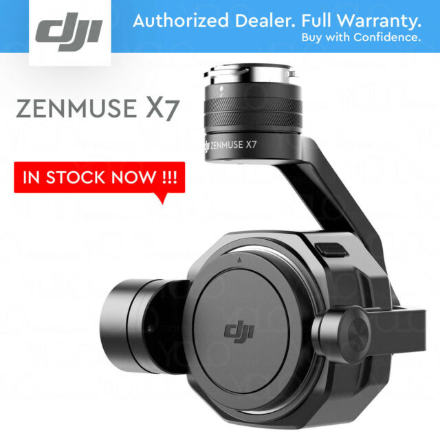 DJI Zenmuse X7 Camera and 3-Axis Gimbal. 6K (6016 x 3200) Video 24MP Still Photo