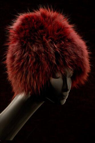 Fur Knit Beanie Hat