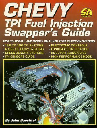 1985 To 1992 Chevy Tpi Fuel Injection Swappers Manual - Guide Book