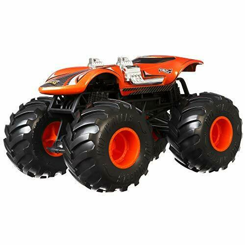 Hot Wheels Gjg70 Monster Trucks 124 Twin Mill Vehicle For Sale Online Ebay