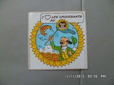 AUTOCOLLANT FRUIT D'OR 1985 TOURNESOL TINTIN 1985 I46