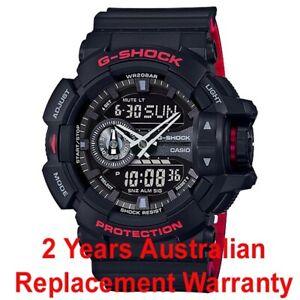 CASIO-G-SHOCK-MEN-WATCH-GA-400HR-1A-BLACK-x-RED-GA-400HR-1ADR-2-YEARS-WARRANTY