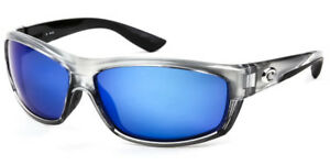 f1651cc94d1 Costa Del Mar Saltbreak Men Sunglasses BK 18 Silver   Blue Mirror ...