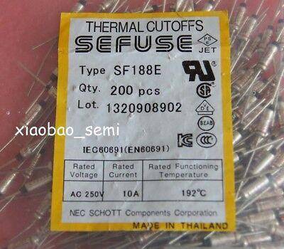 20PCS SF70E sefuse points de démarcation NEC Thermal Fusible 73 ° C 73 Degré 10 A 250 V
