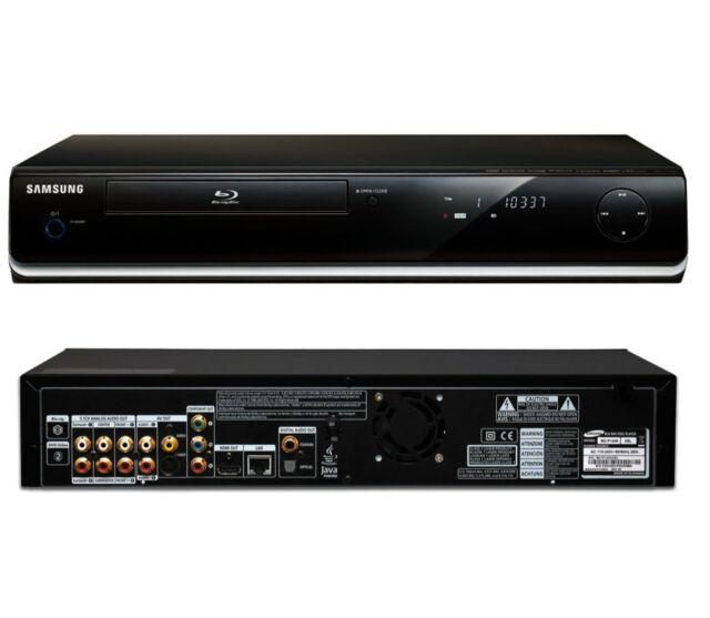 SAMSUNG BD-P1400 DVD BLU-RAY PLAYER FULL HD HDMI ANYNET 5.1 Analog Audio