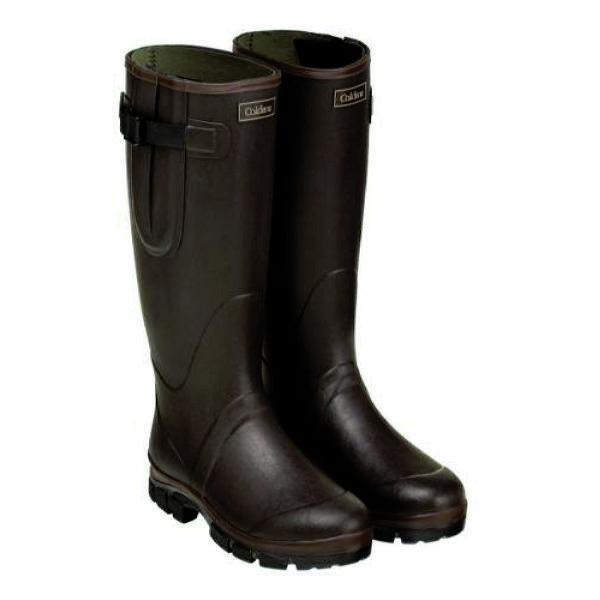 Caldene  Equestrian Unisex Neoprene Lined Chocolate Westfield Wellington Boots  big discount prices