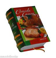 Comidas Caseras 3. Fiestas. Los Libros Mas Pequeños Del Mundo. 100+ Recetas.