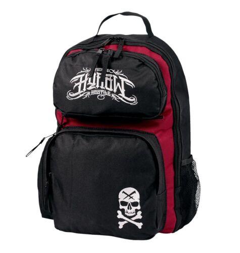 Backpack And Bag Skull Biker Street Hyraw Black In Red 56PP8