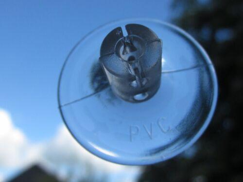 transparent  Fenster Saughaken        110705 10  Sauger für Lichterkette 30 mm