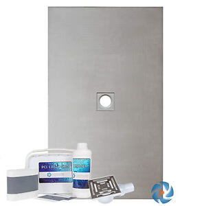 Wet Room Kit 1200 X 900mm Wetroom Shower Level Floor Base