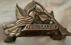 vintage-brass-dove-Wainberg-Jerusalem-napkin-holder
