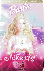 Barbie In The Nutcrackervhsclam Shell Casebarbies First Movie