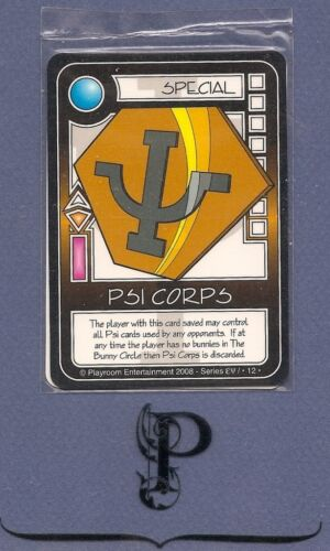 Killer Bunnies Promo Psi Corps Mint Sealed New