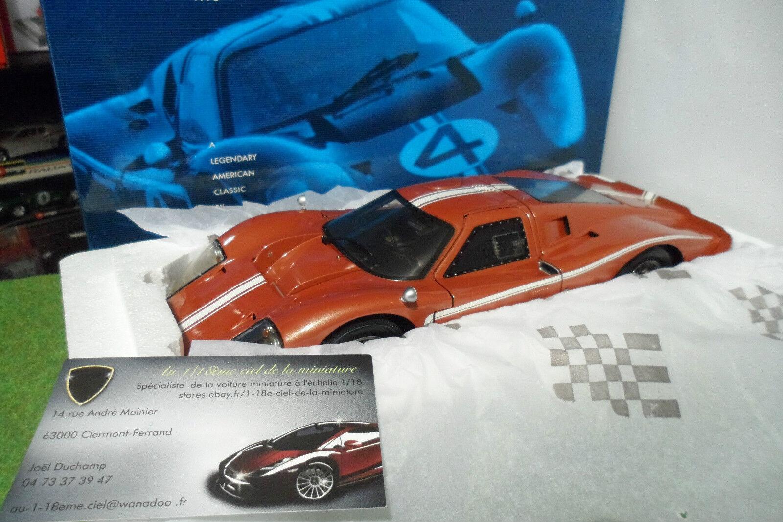 venta caliente en línea FORD FORD FORD GT 40 MK IV TEST Coche 1967 Le Mans au 1 18 EXOTO RLG 18055 voiture miniature  ¡No dudes! ¡Compra ahora!