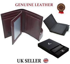 Kleidung & Accessoires Designer Mens High Quality Real Leather Wallet Italian Veg Tan Luxury Gift Box Geldbörsen & Etuis
