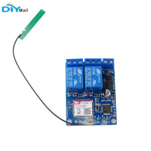 2-Channel-Relay-Module-SMS-GSM-Remote-Control-Switch-SIM800C-STM32F103CBT6