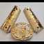 GUNS-GRIPS-CACHAS-For-1911-Colt-45-Nickel-gold-Mexican-Eagle-grips thumbnail 1