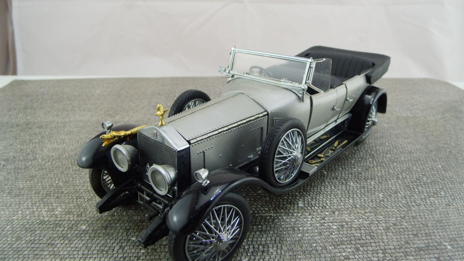 Franklin Mint Mint Mint 1 24 1925 Rolls Royce plata Ghost a 640 buen estado 0e1fef