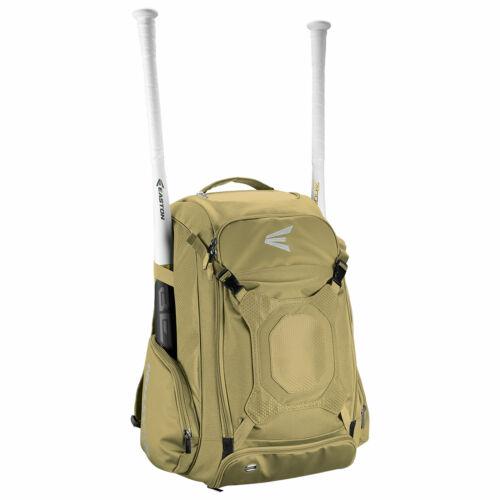 Easton Walk-Off IV Baseball//Softball Backpack Bag Vegas Gold