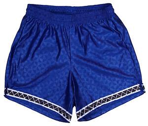 Don-Alleson-Blue-Triangle-Polyester-Soccer-Shorts-Men-039-s-Medium