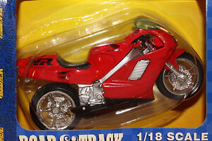 2000 MAISTO 1/18 SCALE HONDA NR MOTORCYCLE, BOXED