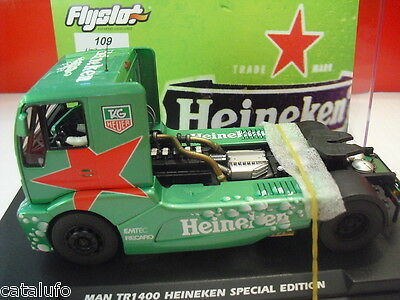 Original Flyslot Man Tr 1400 Heineken Special Edition Ref Automotive 203306 1/32 New New Pure White And Translucent