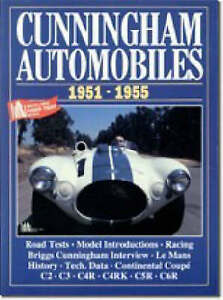 Book-Cunningham-Automobiles-1951-1955-C2-C3-C4R-RK-New-copy-Brooklands