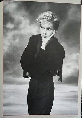 Duran Duran  Nick Rhodes Vintage  Poster 1986 24 x 34 inch FREE SHIPPING