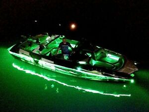 - UNIVERSAL fit any boat - LED Boat Light Kit GREEN - under OR above deck