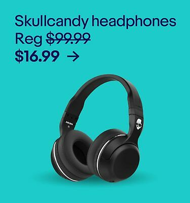 Skullcandy headphones $16.99