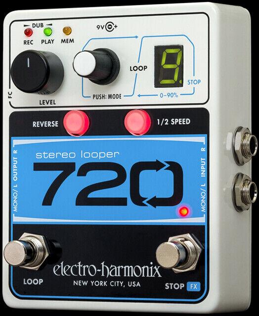 ELECTRO HARMONIX - Electro Harmonix 720 Stereo Looper Pedal