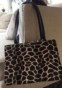 Vintage Kate Spade Animal Print Bag Shoulder Calf Hair TRUNK SHOW ... 8161435c9b