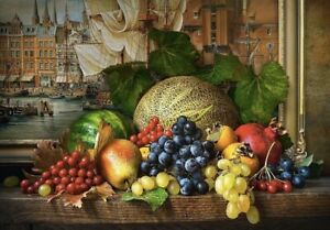 "Puzzle 1500 pieces 68*47cm. ""STILL LIFE WITH FRUITS"" Castorland C-151868"