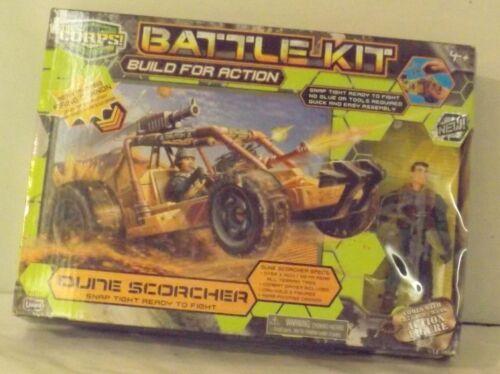 Lanard The Corps bataille Kit Dune Scorcher construire pour l/'Action Dune Buggy et figure